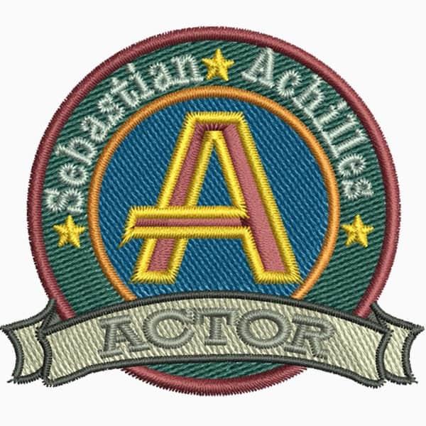 Patches Cap Logo gestickt