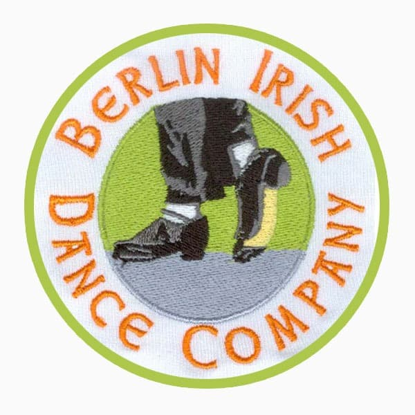 Patches Irish Dance Logo gestickt