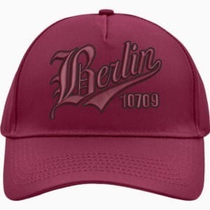 5 Panel Cap Berlin (burgundy)