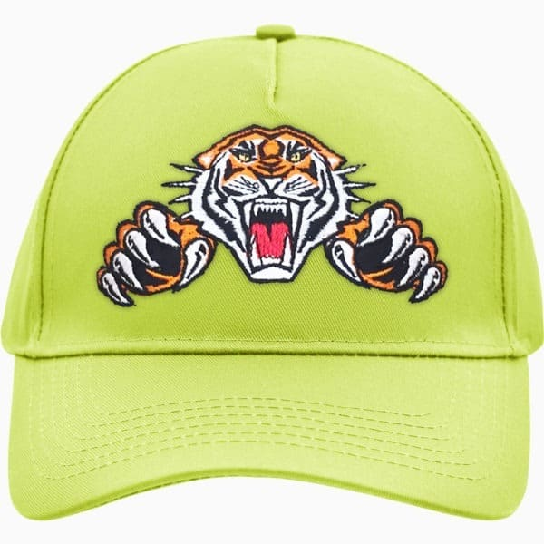 5 Panel Cap Tiger Logo (sunny-lime)