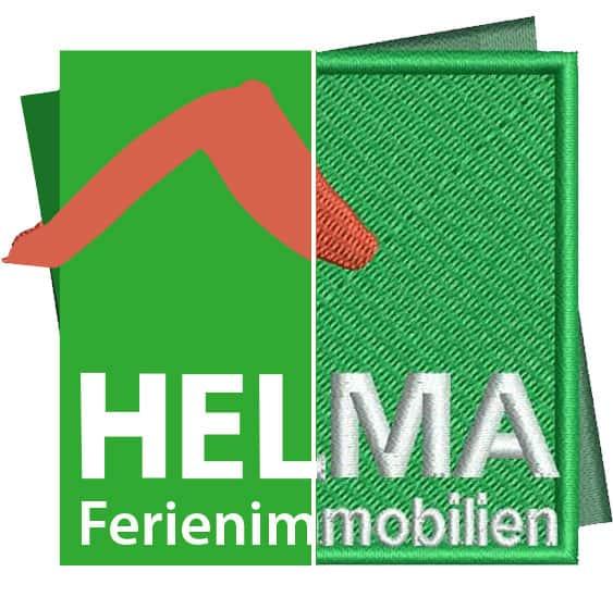 Stickerei Berlin Logo Helma