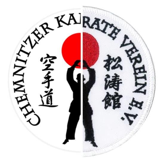Stickerei Berlin Logo Karate