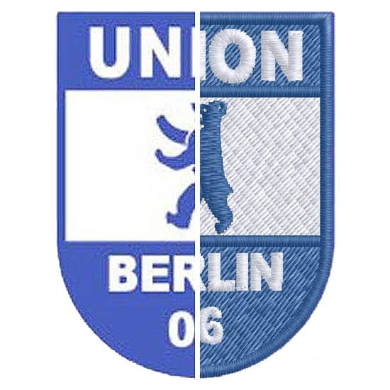 Stickerei Berlin Logo Union Berlin