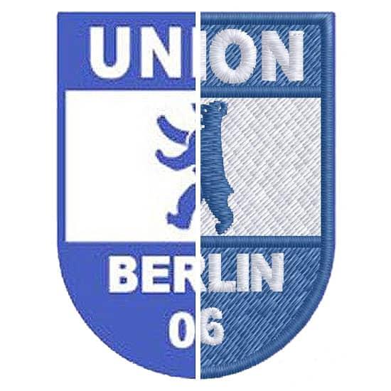 Stickerei Berlin Logo Union Berlin